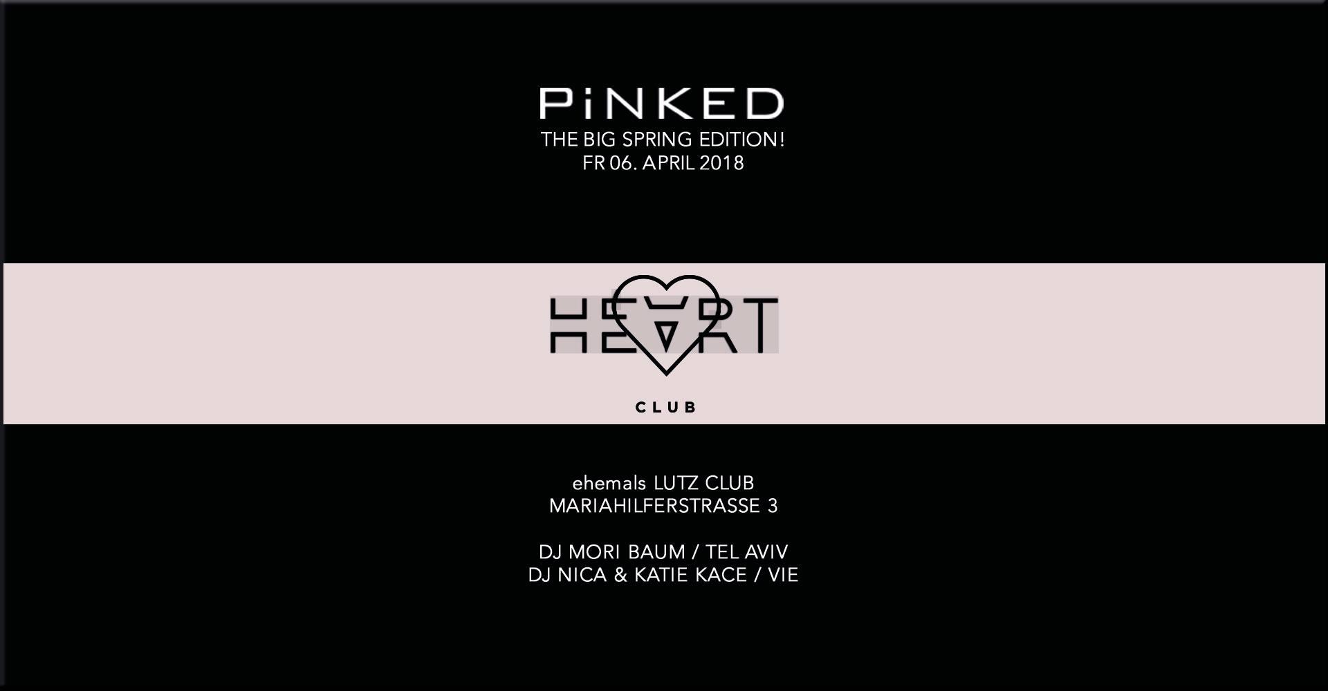 Pinked @ Heart Club Vienna